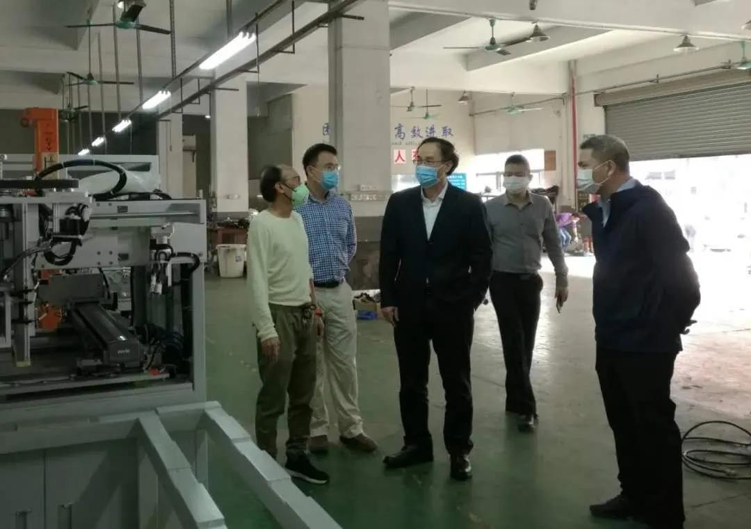 市市场监督管理局成立NQI(质量基础设施)服务小组服务口罩装备行业发展